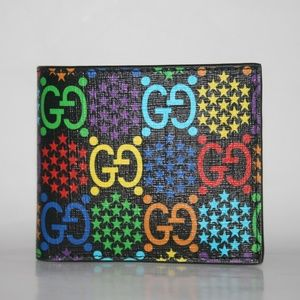 Gucci Psychedelic Canvas GG Bifold Wallet